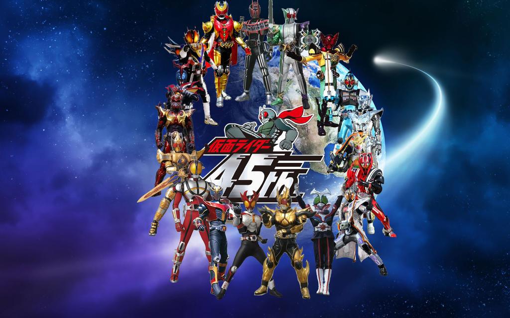 All Kamen Rider Final Forms by Porfirio739 on DeviantArt