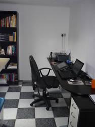 My workspace by nancy-kelpie