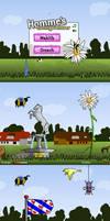Flash game art: Homme
