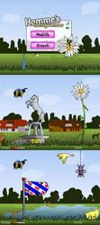 Flash game art: Homme by nancy-kelpie