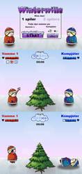 Flash game: Winterwille by nancy-kelpie