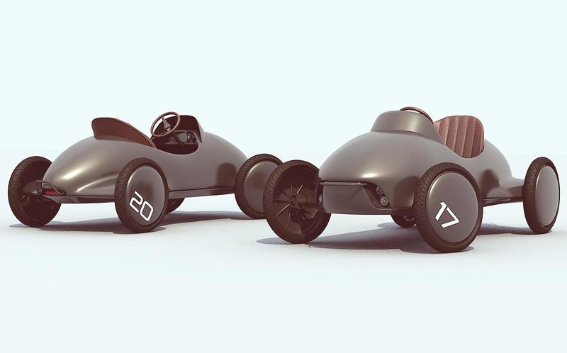 Kid's Electric Car by GGMVDB