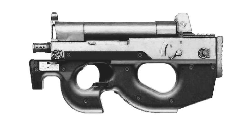 Type 06 SMG + P-90 by GGMVDB
