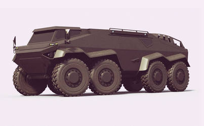 Heavy Duty Armored Off-road Vehicle by GGMVDB