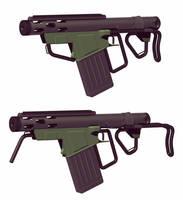 Dune 2020. Alternative concept design of firearms