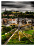 HDR Edinburgh Scotland