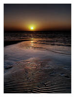 Sunset at the Beach HDR by SaudiDude