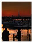 Festival City Sunset HDR Dubai