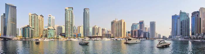 Dubai Marina Panorama by SaudiDude