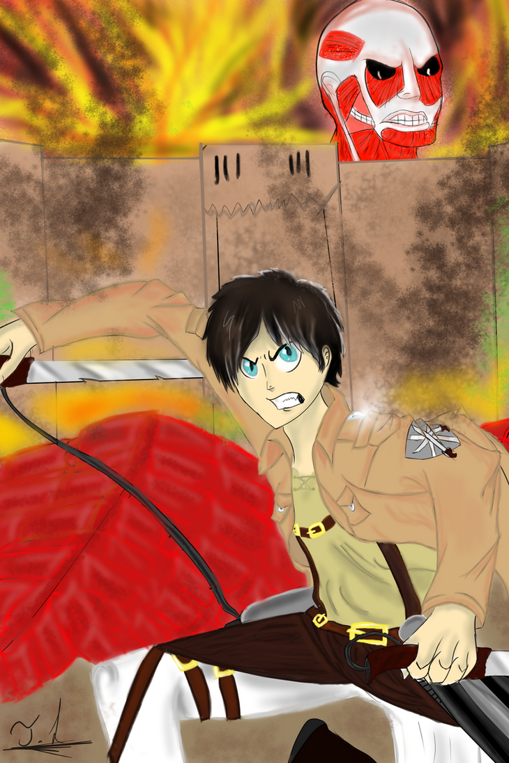 Attack on titan by AnimalBook96