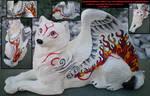 Okami Amaterasu Winged Wolf PYO