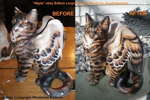 Windstone Editions ebay Maple Lg Flap Cat Repair