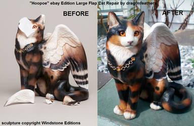 Windstone Editions ebay Hoopoe Lg Flap Cat Repair