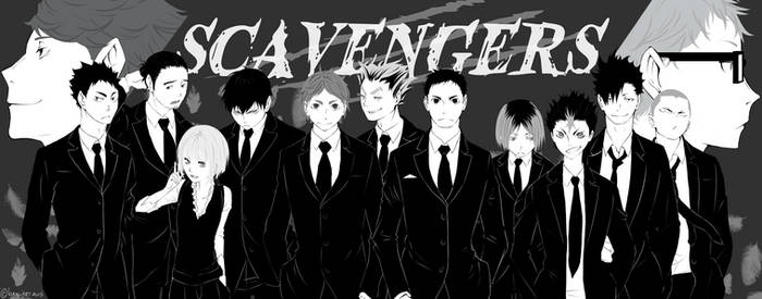 Haikyuu fanfic - Scavengers by Isram on DeviantArt