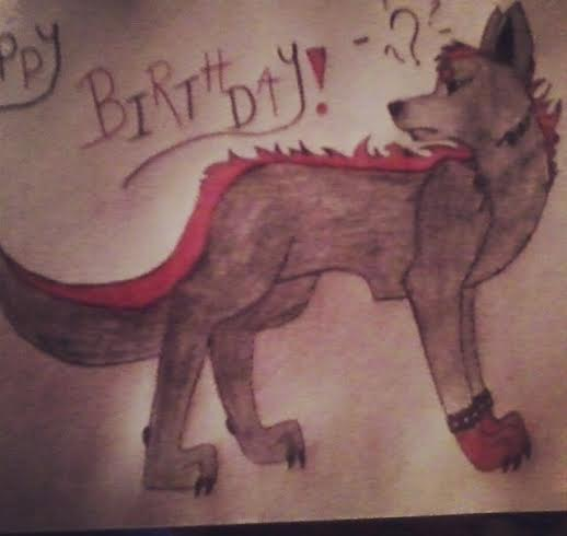 Birthday Drawing For My Bro by LuckyHeart1224