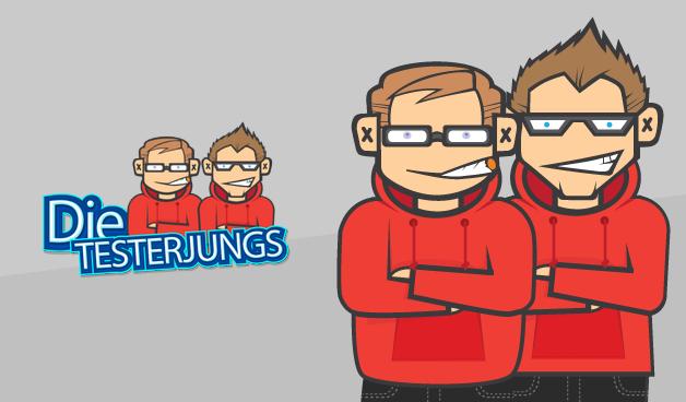 Die Testerjungs - Youtube Channel Logo Design by moellerMEDIA on ...
