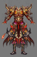 The overlord armour by vega218