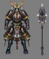 Samurai armor by vega218