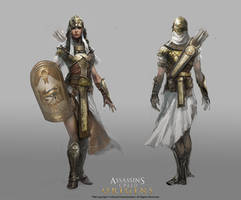 Aya Golden Concept Art