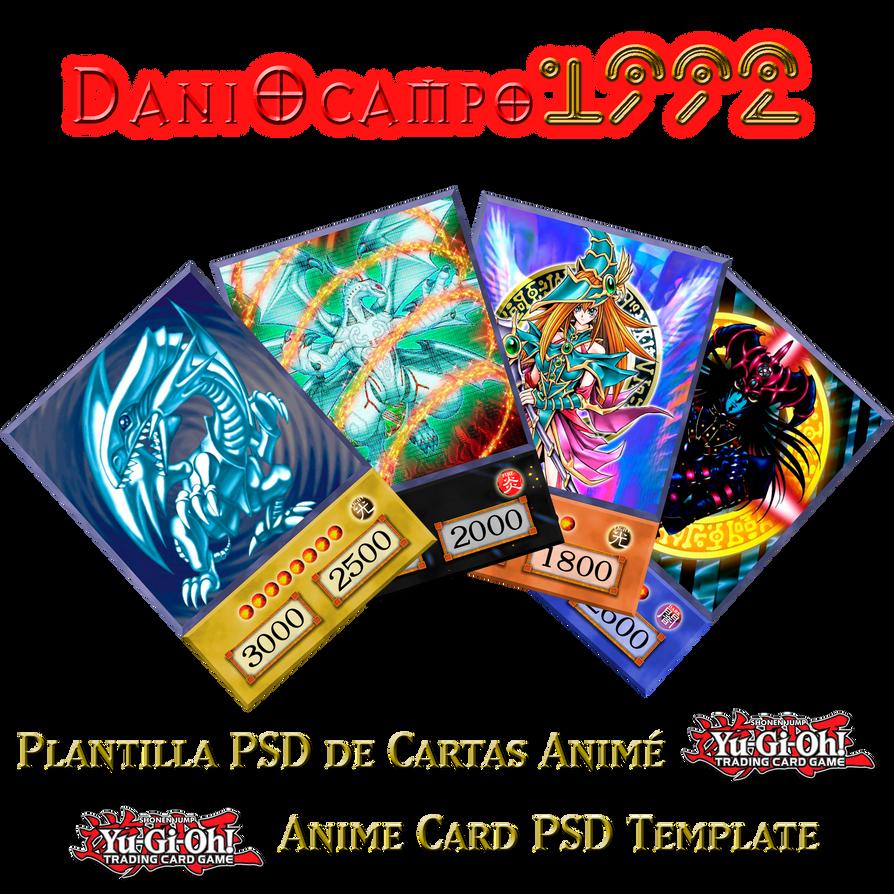 4Kids Anime Card PSD Template by DaniOcampo1992 on DeviantArt