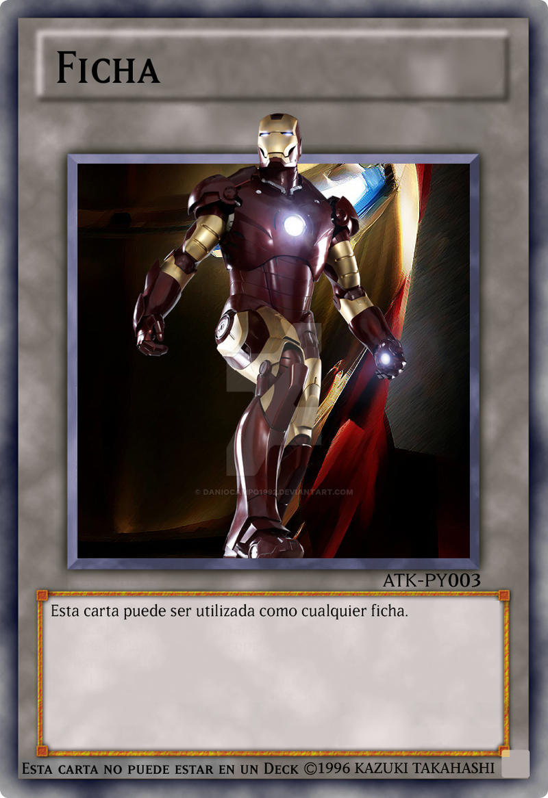 ironman yu gi oh avengers tokens by daniocampo1992 on deviantart