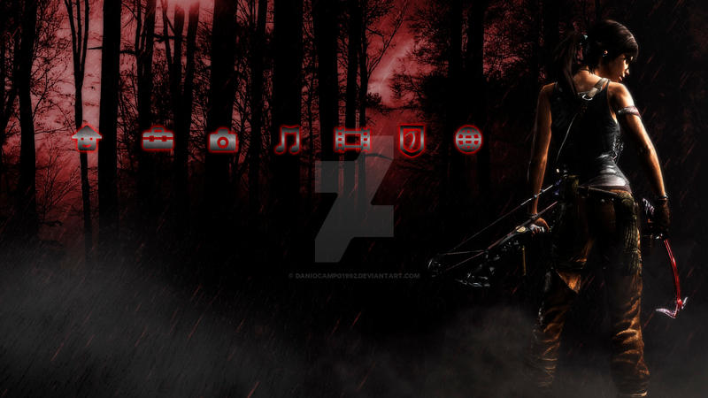 Lara Croft Reborn Dynamic PS3 Theme 1 by DaniOcampo1992 on ...