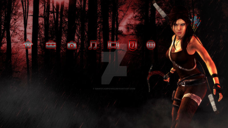 Lara Croft Reborn Dynamic PS3 Theme 3 by DaniOcampo1992
