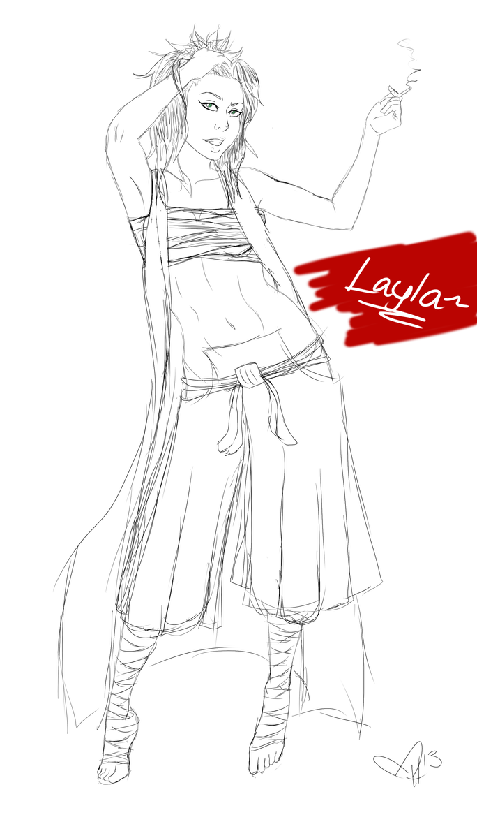 Layla by InkieRose