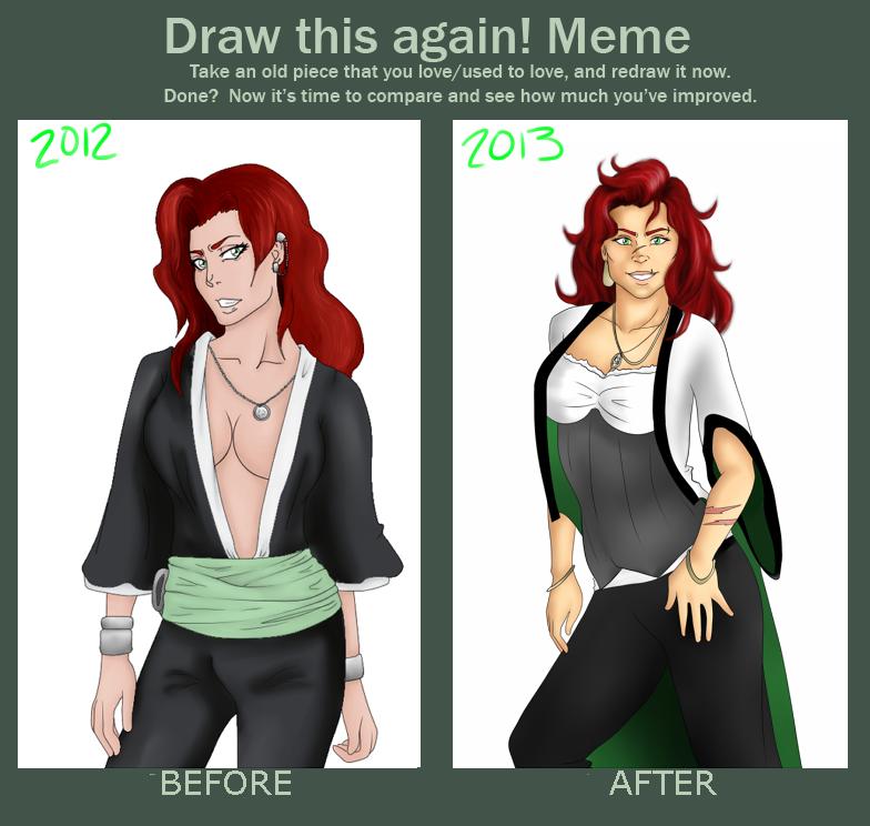 Draw this again Elva by InkieRose