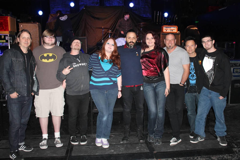 Blue October Meet and Greet by InkieRose