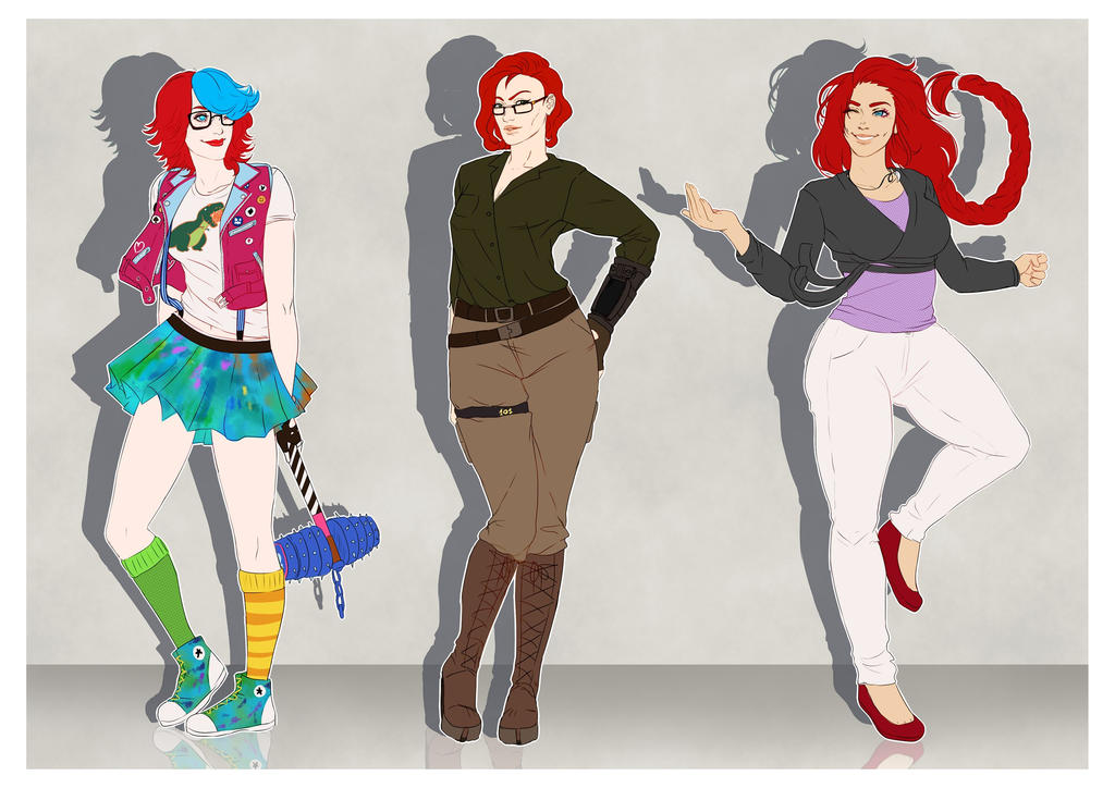 Leading Ladies by InkieRose