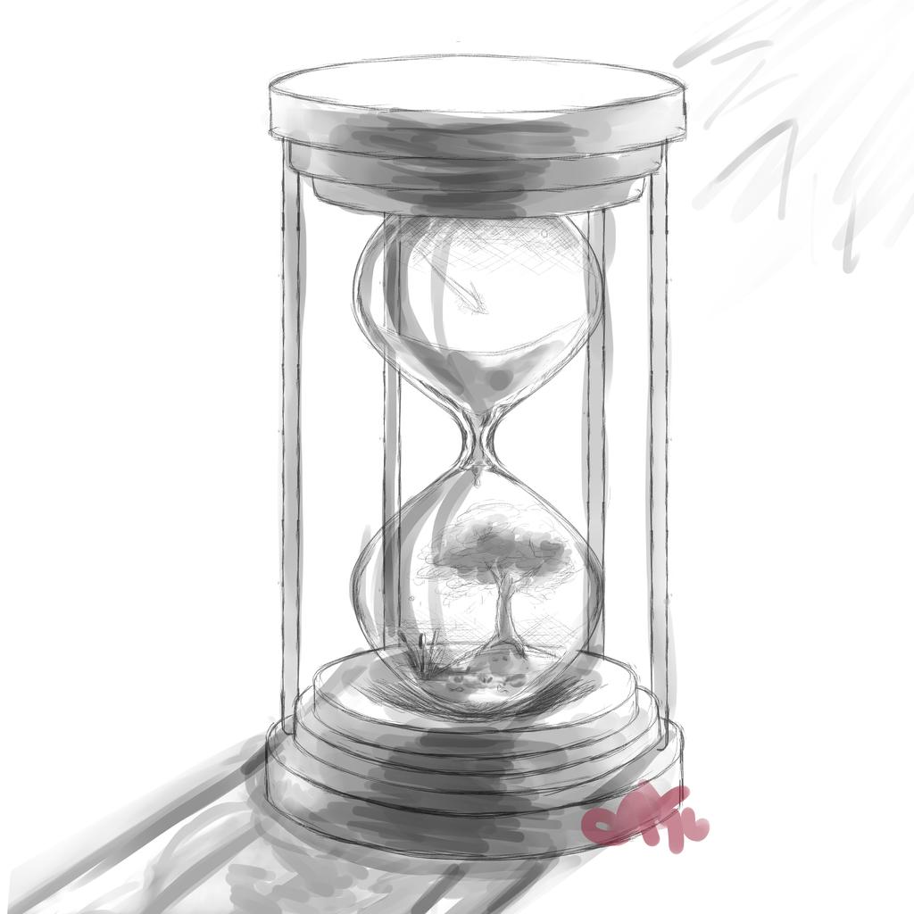 Hourglass by InkieRose