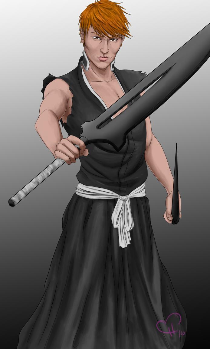 Ichigo Kurosaki by InkieRose