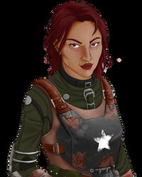 Commission - Eva by InkieRose