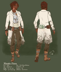Natasha Flores - Fallout 4 by InkieRose