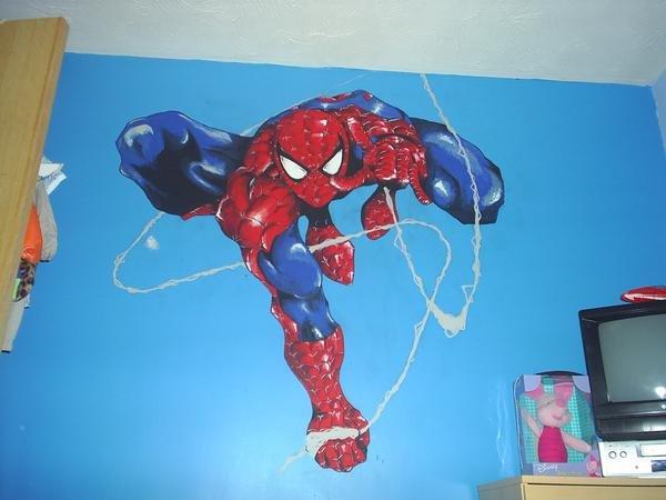 Spiderman Wall Art spiderman wall artdark-rikimaru on deviantart