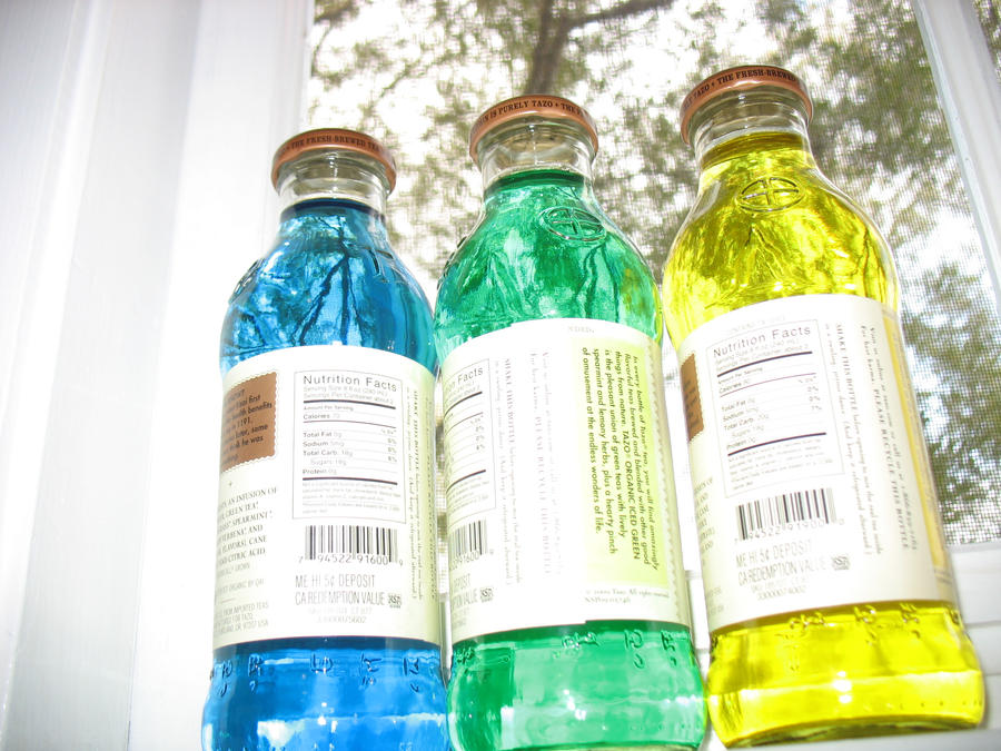Bright Bottles by beverly546