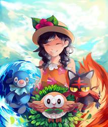 Pokemon Ultra Moon by APIllustrations