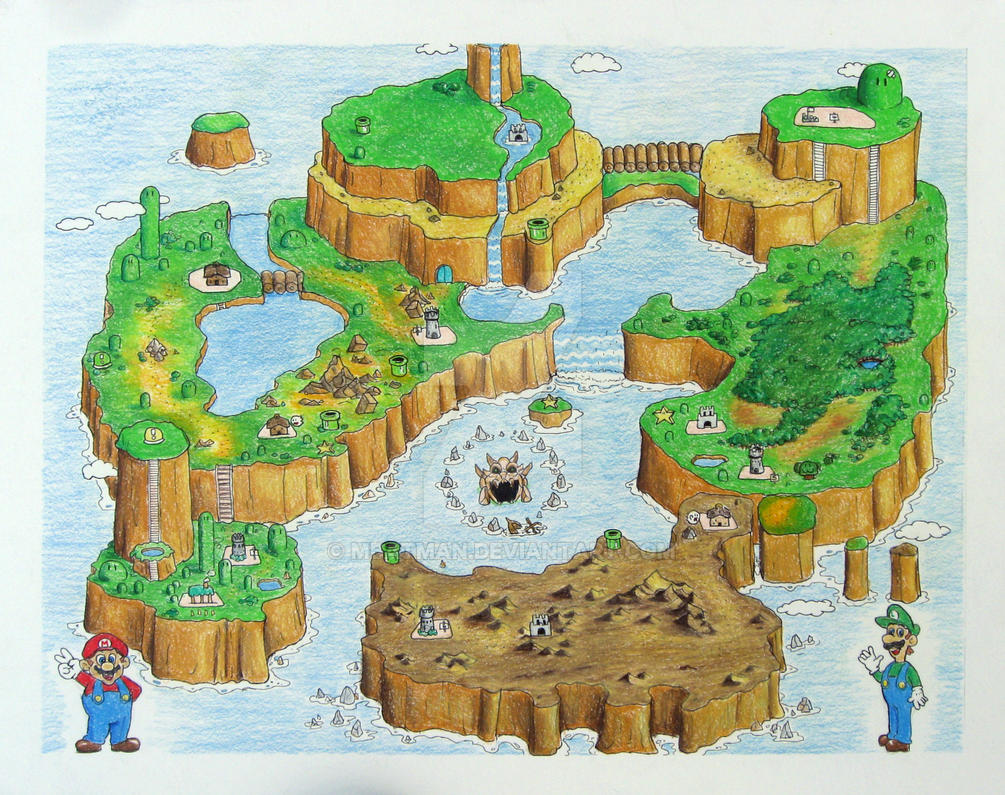 Super mario world by mbatman on deviantart super mario world by mbatman gumiabroncs Images