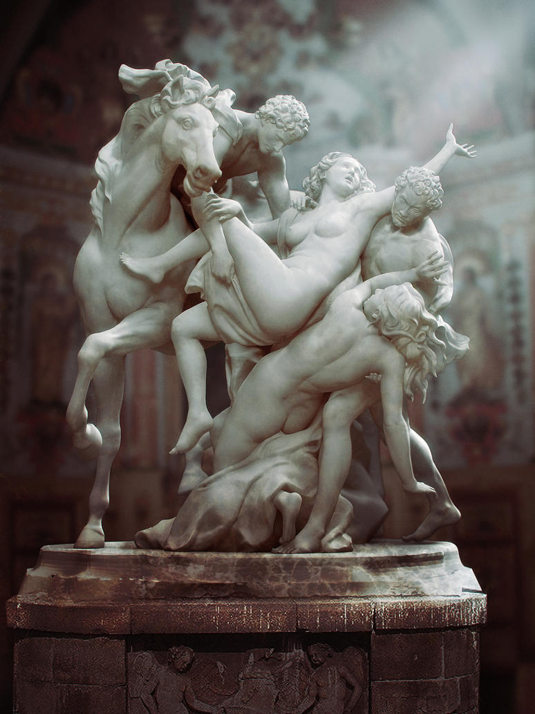 The Rape of the Daughters of Leucippus by userlizvicious