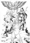 Witchblade, Magdalena, Aphrodity ix, Angelus.