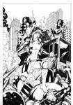 Rogue, Psylocke, X23 VS Juggernaut
