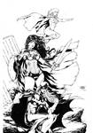 Wonder Woman, Batgirl and Supergirl