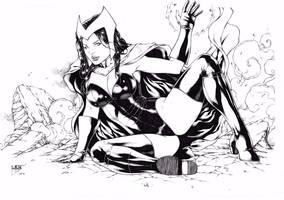 Scarlet Witch by Leomatos2014
