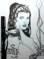 Dejah Thoris Wip by Leomatos2014