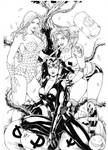 Catwoman Harley Quinn and Poison Ivy