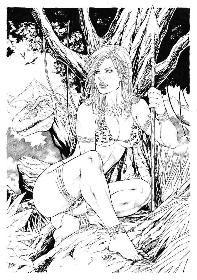 Jungle Girl by Leomatos2014