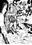 Supergirl Grail Darkseid and Wonder Woman
