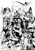 Batfamily by Leomatos2014