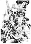Domino Deadpool and Cable